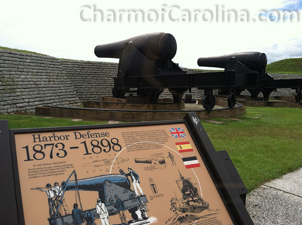 fort moultrie cannons